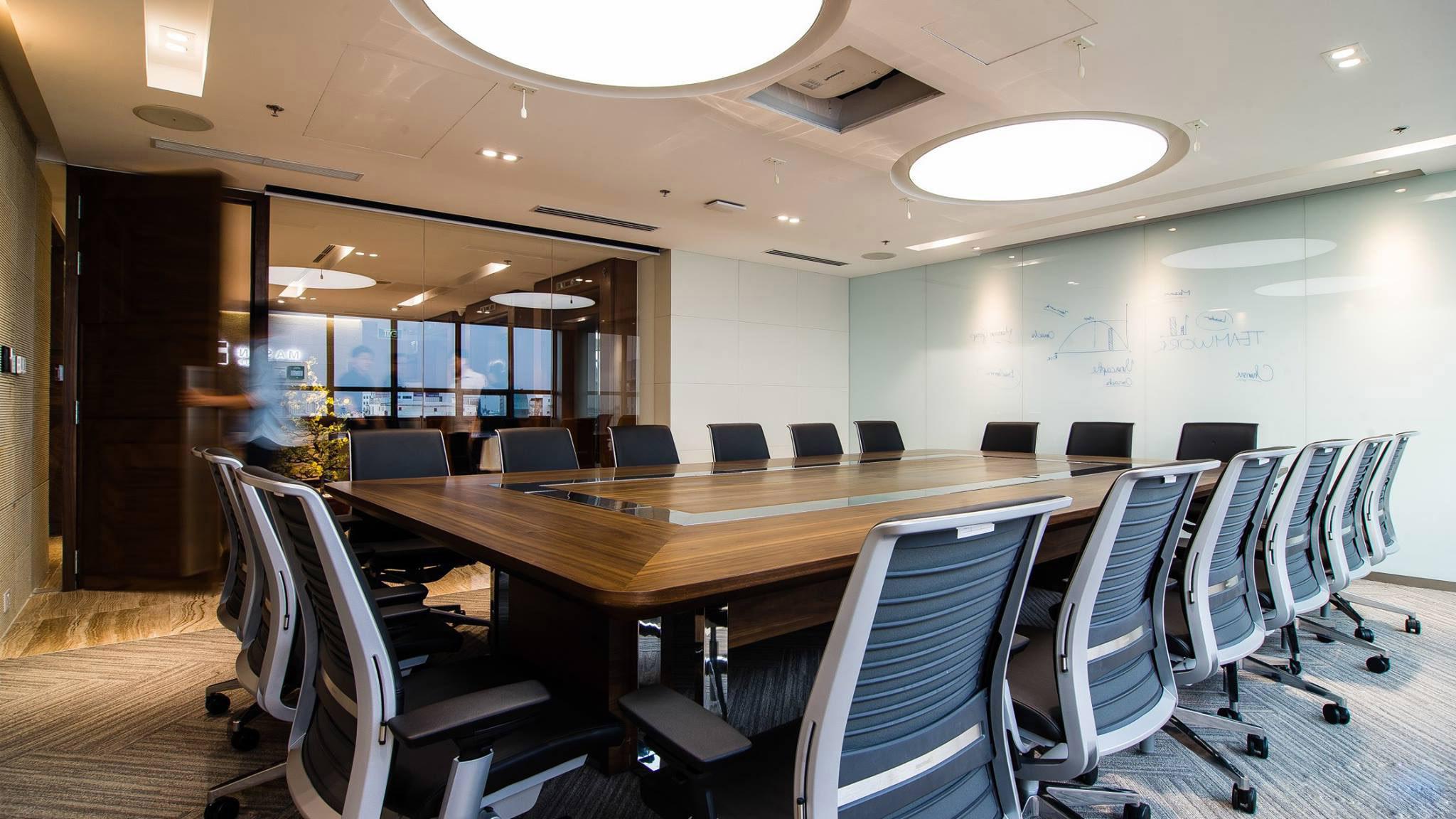 Thiết kế nội thất văn phòng cty masanhcm