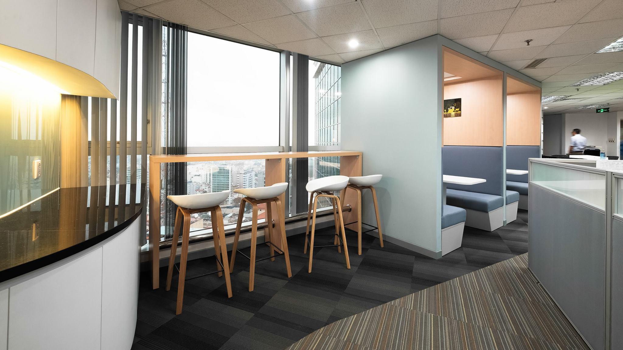 Thiết kế nội thất văn phòng cty INA