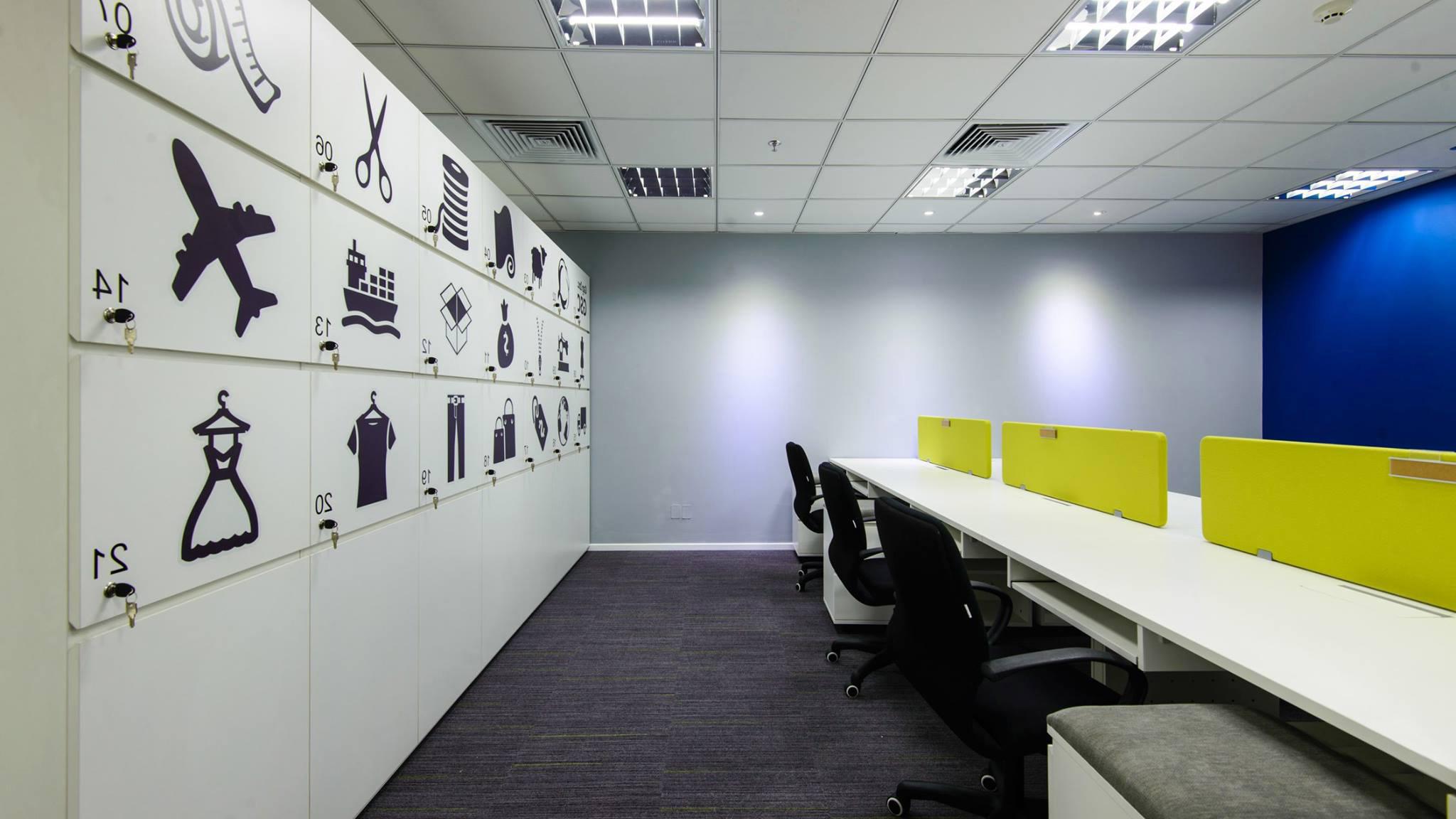 Thiết kế thi công văn phòng china Trust